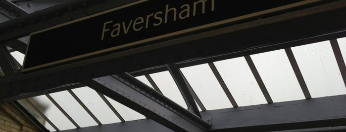 Faversham Railway Station (FAV) is one of Train stations.