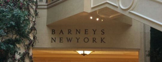 Barneys New York, Las Vegas is one of Catalina's tips.