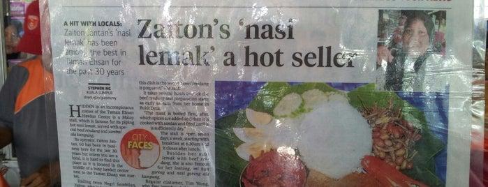 Gerai Kak Eton (Nasi Lemak Panas) is one of Must-visit Food in Kuala Lumpur.