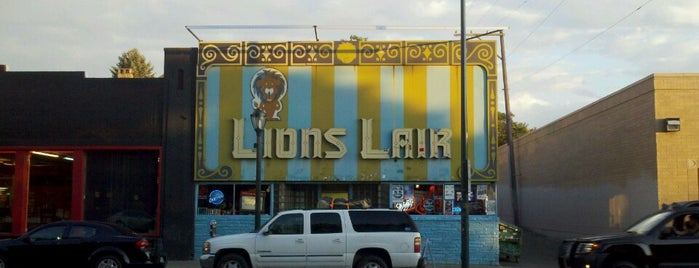 Lion's Lair is one of Izzy's Denver Nightlife.