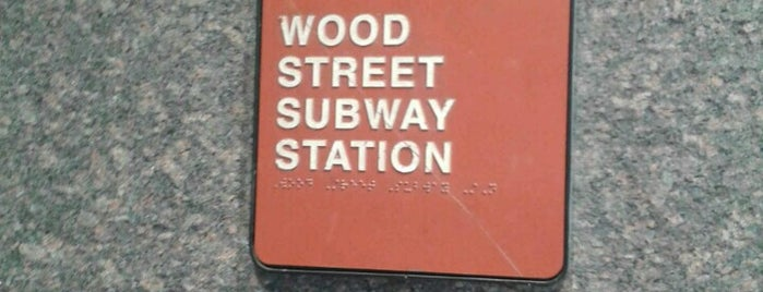 Port Authority Wood Street Station is one of Port Authority Trolley.