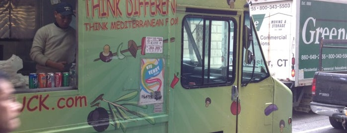 Comme Ci Comme Ça - Chef Samir Truck is one of Top Food Trucks in Midtown.
