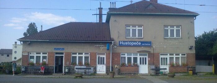 Železniční stanice Hustopeče nad Bečvou is one of Železniční stanice ČR: H (3/14).