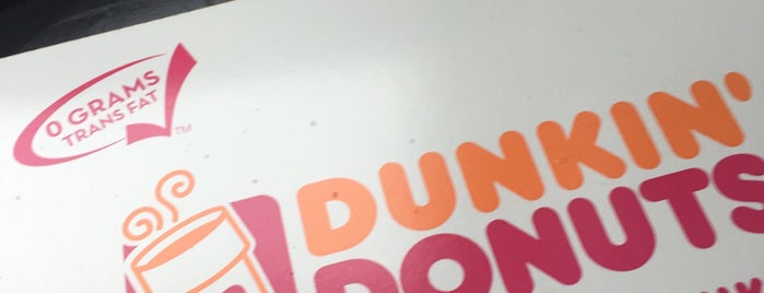 Dunkin' Donuts is one of Fast Food.
