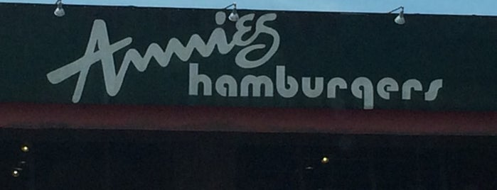 Annie's Burgers is one of Top picks for Burger Joints.