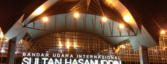Sultan Hasanuddin International Airport (UPG) is one of Makasar.