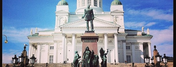 Senaatintori is one of Хельсинки.