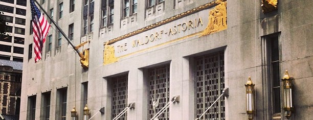 Waldorf Astoria New York is one of New York New York.