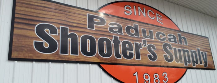 Shooter's Supply is one of Paducah.