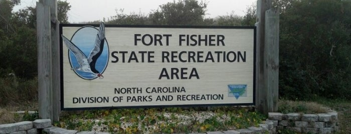 Fort Fisher State Recreation Area is one of North Carolina.