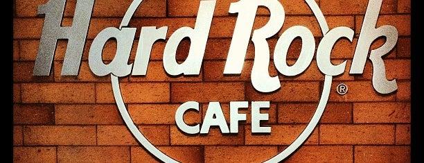 Hard Rock Café is one of HARD ROCK CAFE'S.