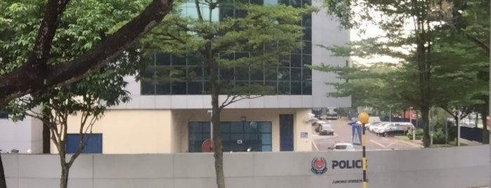 Jurong Police Division HQ / Nanyang Neighbourhood Police Centre is one of Singapore Police Force.