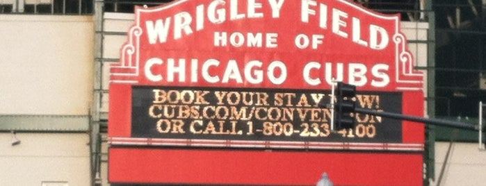 Wrigley Field is one of Traveling Chicago.