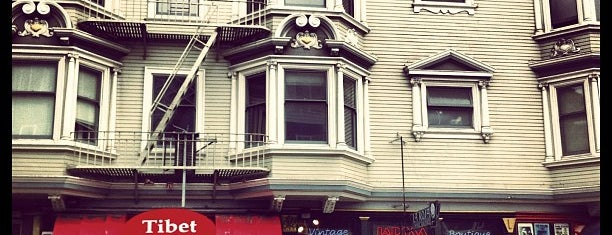 Haight-Ashbury is one of Clothing.