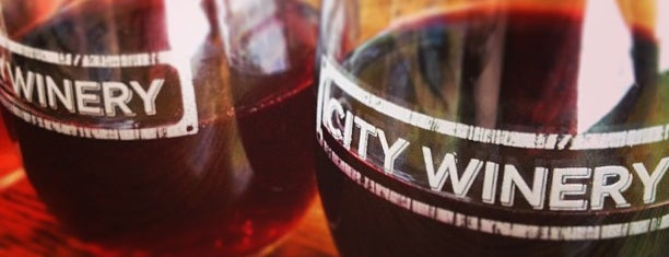 City Winery is one of NY Trip.