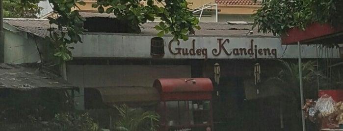 Gudeg Kandjeng is one of Jakarta.