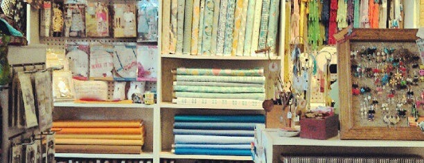 Fabric Bliss is one of Fav places.