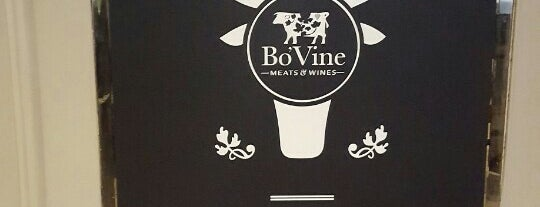 Bo'Vine Steak Restaurant is one of Essential Glasgow visits.