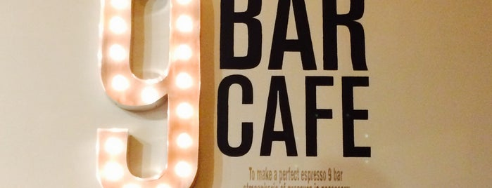 9 Bar Cafe is one of Downtown Jersey City Eats.