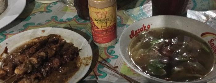 Pondok Makan Sate & Sop Asmawi is one of Goyang Perut.