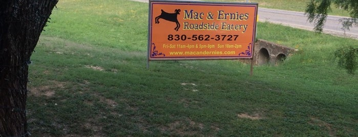 Mac & Ernies Roadside Eatery is one of DINERS DRIVE-INS & DIVES.