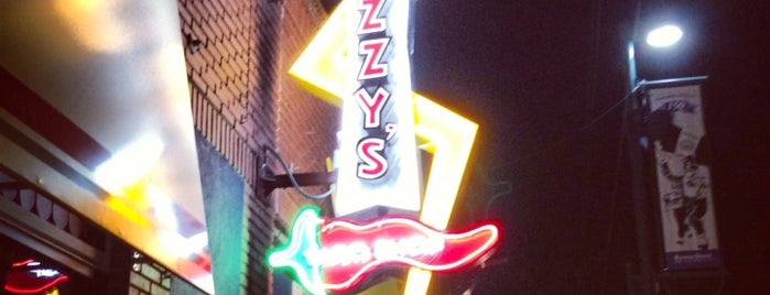 Fuzzy's Taco Shop is one of Aggieville Bars.