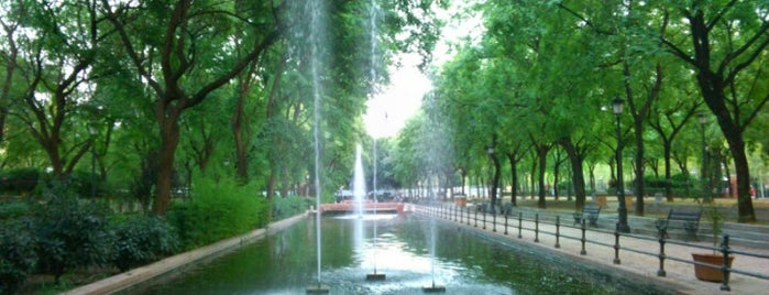 Jardines del Prado de San Sebastián is one of Must-visit Great Outdoors in Sevilla.