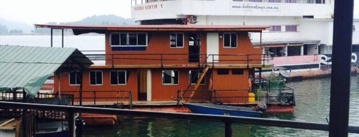 Tasik Kenyir Lake Resort is one of @Hulu Terengganu.