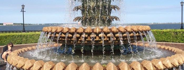The Pineapple Fountain is one of my charleston places.