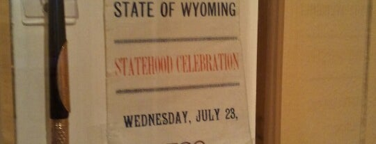Wyoming State Museum is one of Brandon's Tips.