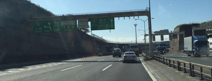 首都高 川崎浮島JCT is one of 高速道路.