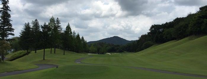 石岡ゴルフ倶楽部 ウエストコース is one of ゴルフ場(茨城).