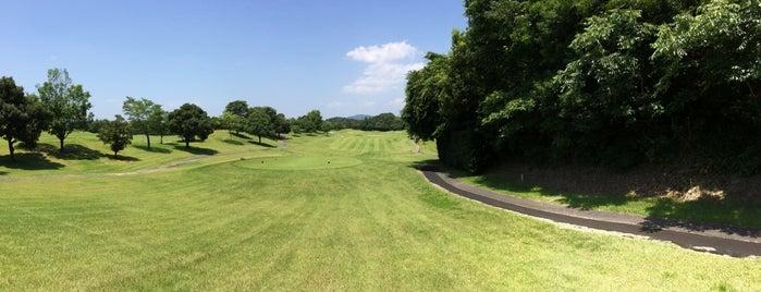 水戸グリーンカントリー 山方コース is one of ゴルフ場(茨城).