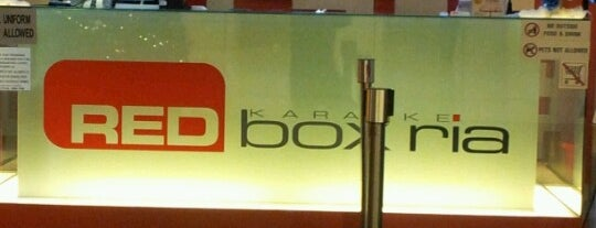 Red Box Ria is one of F&B.