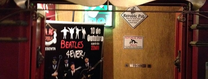 Republic Pub is one of Bons Drink in Sampa.