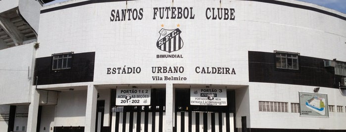 Estádio Urbano Caldeira (Vila Belmiro) is one of Top picks for Stadiums.