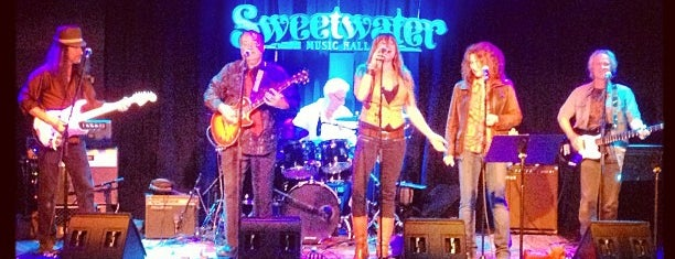 Sweetwater Music Hall is one of SF to-do.