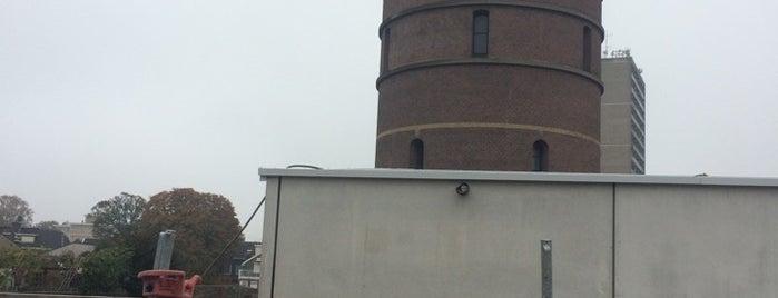Watertoren Enschede is one of Architectuur Enschede #4sqCities.