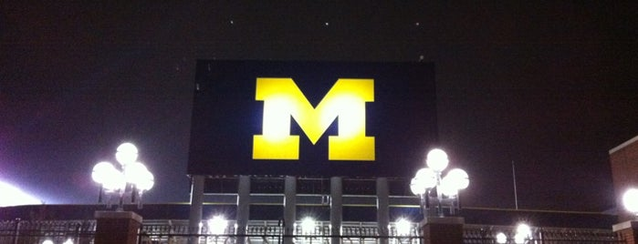 Michigan Stadium is one of College Football Stadiums.