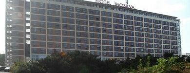 Hotel Moskva is one of Baťa ve Zlíně.