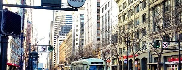 Market Street is one of San Francisco.