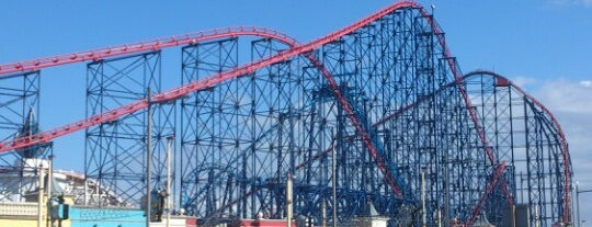 Blackpool Pleasure Beach is one of COSAS DE NIÑOS.