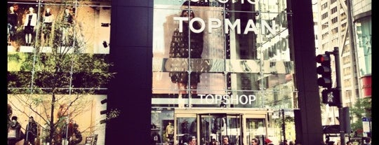 Topshop is one of Chicago To Do's.