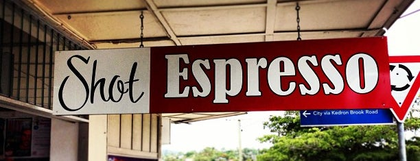 Shot Espresso is one of Best Cafes in Brisbane.