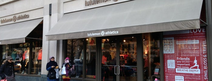 lululemon athletica is one of Useful locations.