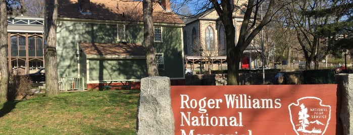Roger Williams National Memorial Park is one of National Parks.