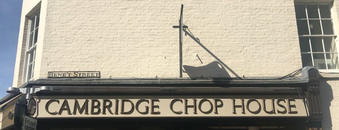 Cambridge Chop House is one of Must-visit Food or Drink in Cambridge.