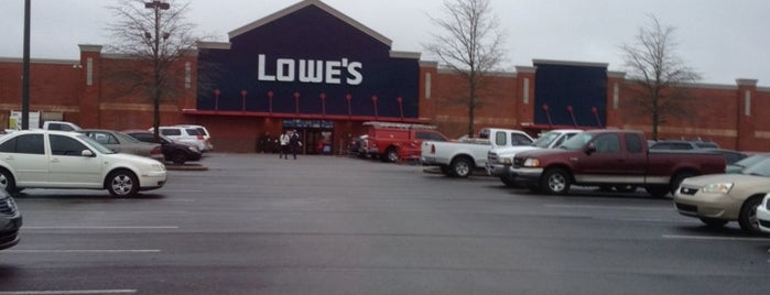 Lowe's Home Improvement is one of faves.