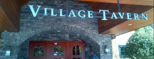 Village Tavern is one of North Ga chill spots.
