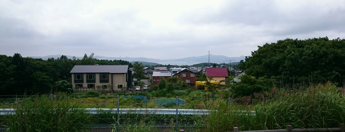 本輪西PA is one of 道央自動車道.